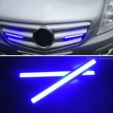 2-x-Super-Bright-Slim-COB-Blue-DRL-best-Car-LED-Lights-17cm-Fog-Lamp-Water