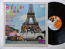 LES SIPOLO Bric a brac musical 820150 CIRQUE VOITURE
