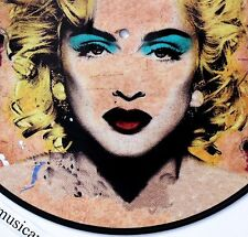 MADONNA AS GOLD MARILYN ANDY WARHOL MR BRAINWASH ORIGINAL PICTURE DISC VINYL M
