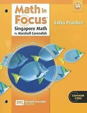 Math in Focus Singapore Math 1st Grade 1 Book A Extra Practice (2013, Paperback)