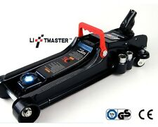 Liftmaster 2.25 Ton Low Profile Hydraulic Trolley Car Jack with LED & Nut Brace