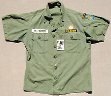 US Special Forces Experimental Uniform Top w/ Picture and Documents SF RECON