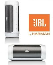 JBL CHARGE 2 portable Bluetooth speaker with built-in Mic (WHITE)
