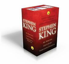 Stephen King Box Set : Mr. Mercedes, Everything's Eventual, Lisey's Story by...