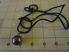 Sterling Silver Harmony Ball Chime Pendant .925 Silver  Mexico Bola