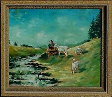 Französischer Maler Horst Billstein 1939-1998 verzeichnet in artnet+artprice xxx