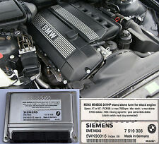 BMW M54B30 MS43 chip tuned ECU 241Hp for swap without EWS and other limits