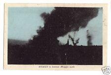 C004542   ASIAGO  IN  FIAMME  MAGGIO  1916   NON VIAGGIATA  FP