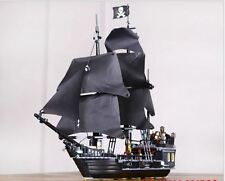 Pirates Of The Caribbean The Black Pearl Ship Minifigure Building Blocks Toys