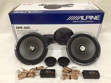"""ALPINE SPR-60C 6.5"""" COMPONENT CAR SPEAKER / 6-1/2-INCH CAR AUDIO SPEAKER TYPE R"""
