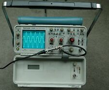 Tektronix 2336YA Two Channel 100MHz Portable Oscilloscope, Two Probe, Low Hours