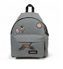 ZAINO CARTELLA SCUOLA BACKPACK EASTPAK PADDED PAK'R EK620 52O ALL PATCHED