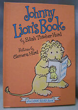 Johnny Lion's Book-An I Can Read Book by Edith Thacher Hurd, 1965, HC