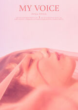 TAE YEON-[MY VOICE] 1st Album Deluxe Edition CD+POSTER+Photo Book+Card K-POP
