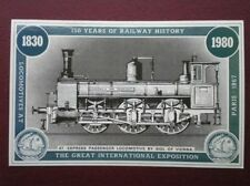 POSTCARD GREAT INTERNATIONAL EXPOSITION - EXPRESS LOCO BY SIGL OF VIENNA  150 YR