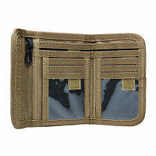 NCSTAR CAWLT2983T TAN TACTICAL MILITARY LAW ENFORCEMENT POLICE BIFOLD WALLET