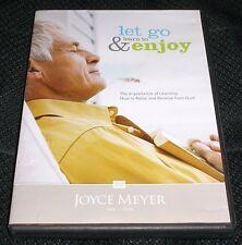 Joyce Meyer Let Go & Learn to Enjoy DVD Teaching Christian D179 Faith Relax God