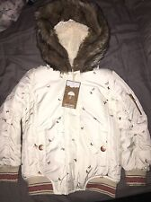 Girls Next Winter Coat 3-4 Years Brand New