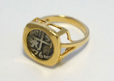 Atocha Ring 14k Gold Ladies Ring Sunken Treasure Shipwreck Coin Jewelry