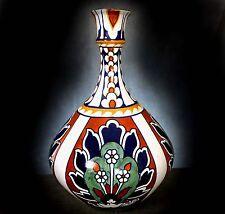 """Magnifique lg. bursley ware """"BAGDAD"""" peint main vase des. par Frédéric rhead"""