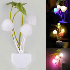 Sensor Control New fantastique Mushroom Light Led Nuit Applique