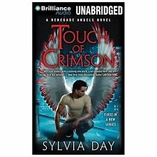 Sylvia Day A TOUCH OF CRIMSON Unabridged CD *NEW* FAST 1st Class Ship!
