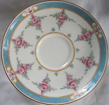 MINTON CHINA PERSIAN ROSE B838 (OLDER) FOOTED BOUILLON SAUCER