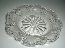 EAPG Riverside SINGLE WILD ROSE Pattern Glass Butter Dish Bottom 1906