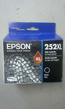 Epson 252XL Black Ink Cartridge T252XL120-S High Yield Expires 2017/18