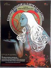 L'ETRANGE COULEUR DES LARMES DE TON CORPS Affiche Cinéma / Movie Poster 53x40