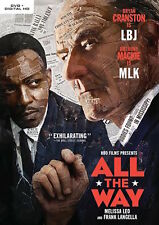 ALL THE WAY DVD - SINGLE DISC EDITION - NEW UNOPENED - BRYAN CRANSTON