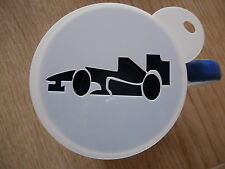 Laser cut racing car 1 coffee and craft stencil