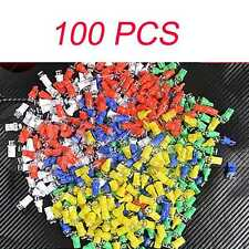 New 100x Car T10 158 194 W5W Car Light Bulb LED Lamp WHITW BLUE RED YELLOW GREEN