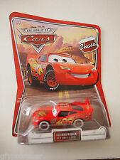 Disney Pixar Cars, CHASE LIGHTNING McQUEEN WITH BUMPER STICKERS
