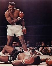 A1 MUHAMMAD ALI CASSIUS SONNY LISTON BOXING SPORT WALL ART PICTURE PRINT POSTER