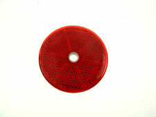Brand New Car Trailer Lorry  Red  Reflector Oval With Hall Left or Right   *392