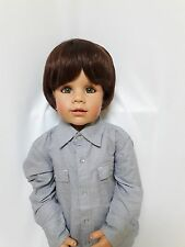 NWT Exclusive Masterpiece Doll Julian Brunette By Monika Peter-Leicht 32""
