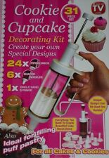 31 Pieza Cookie Galleta Cupcake Pastel Decoración Boquillas Set Kit Jeringa