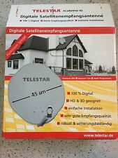Telestar Alurapid 45 Digitale Satellitenempfangsantenne 1x Single LNB