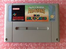 Super Mario World and All Stars Allstars SNES Super Nintendo S79
