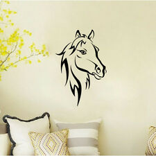 Vinyl Wall Sticker Horse Head Home Decor Art Wall Decal  Bedroom Removable Mural