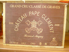 Chateau Pape Clement 2008 Grand Cru (6 Bottle OHK)