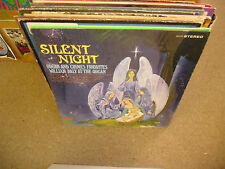 William Daly Silent Night vinyl LP CHRISTMAS Stereo VG+ in Shrink