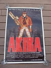 Vintage Original Akira Neo Tokyo Is About to Explode Movie Poster