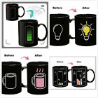 Magic Battery Tea Water Hot Cold Heat Sensitive Color Changing Mug Cup Funny