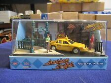 1:64 NYC New York City Ford Crown Victoria Taxi Times Square American Graffiti