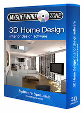 Interior Design Home Designer 2D 3D Computer Software Program CD