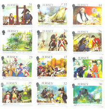 Jersey-French revolution & Philippe D,Auvergne-Military mnh 2 sets (1989-91)