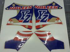 1996 -2001 YAMAHA YZ 125 250 '' NOLEEN '' TANK RAD + SCOOP GRAPHICS STICKERS