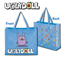 Uglydoll Pug Light Blue 18 Inch Reusable Uglybag Shopping Tote Bag David Horvath